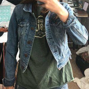 American Eagle short denim/jean jacket